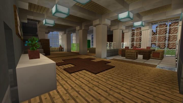 Penthouse Interior Design Minecraft Project