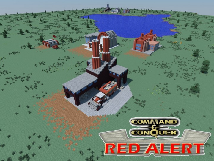 CampC Red Alert Ore Refinery Minecraft Project