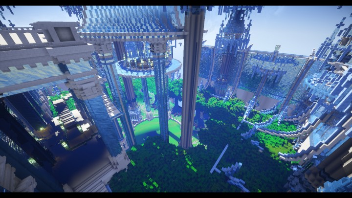 Theia Castle Minecraft Project