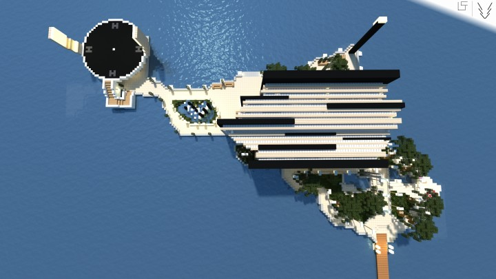 Modern Island House (+ FREE DOWNLOAD) Minecraft