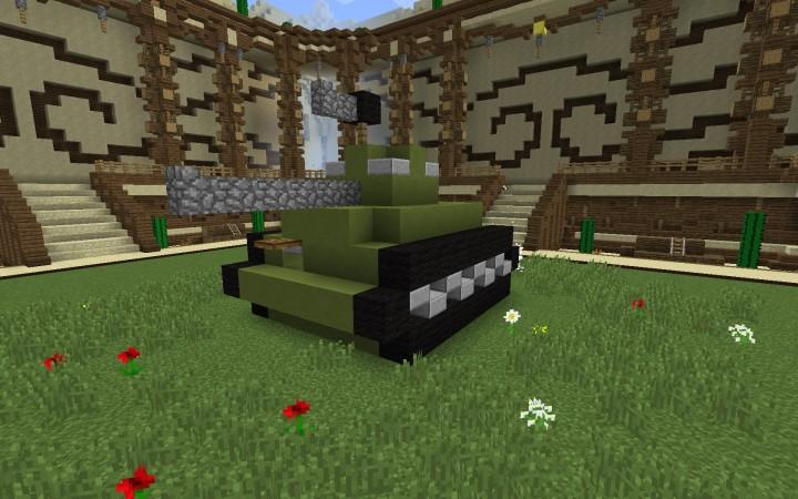 Build Battle 1 Tank Minecraft Project