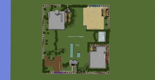 FNAF 1 4  Minecraft Roleplay Maps Minecraft Project FNAF 1 Map Entrance  The Maps