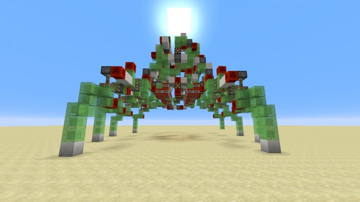Giant Controllable Spider Robot Stryder No Mods No