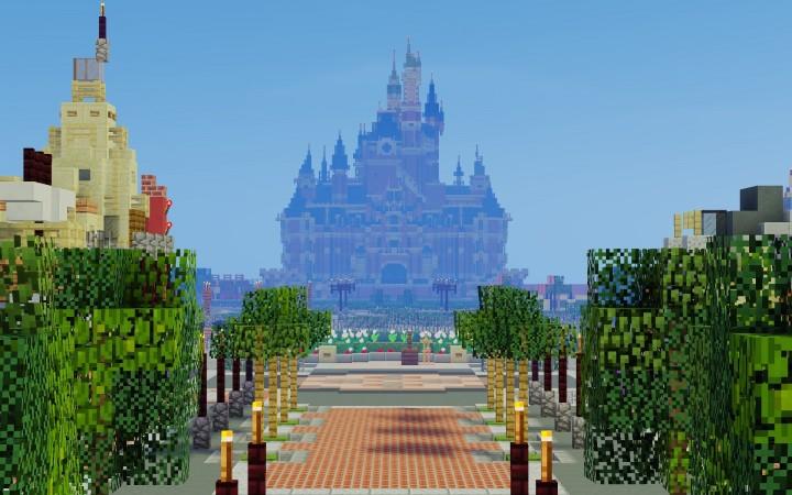 Shanghai Disneyland Minecraft Project