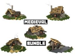 Medieval Buildings Minecraft Collection