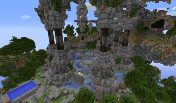 PixelSpaced Sky Wars Minecraft Server
