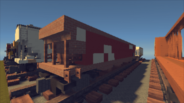 Trains And Freight Car Pack Realistic Minecraft Project