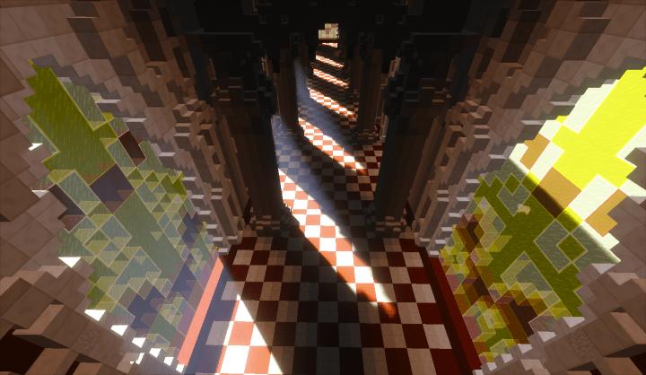 Little Sansy Last Corridor Undertale Minecraft Project