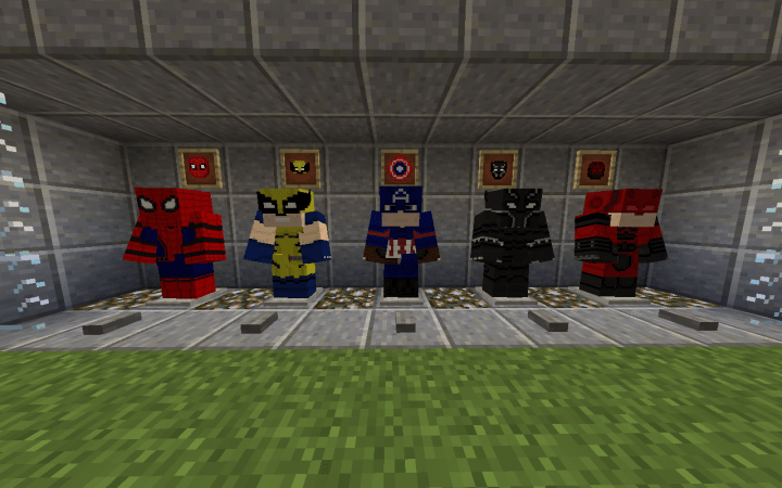 Planet Skins Superhero Minecraft
