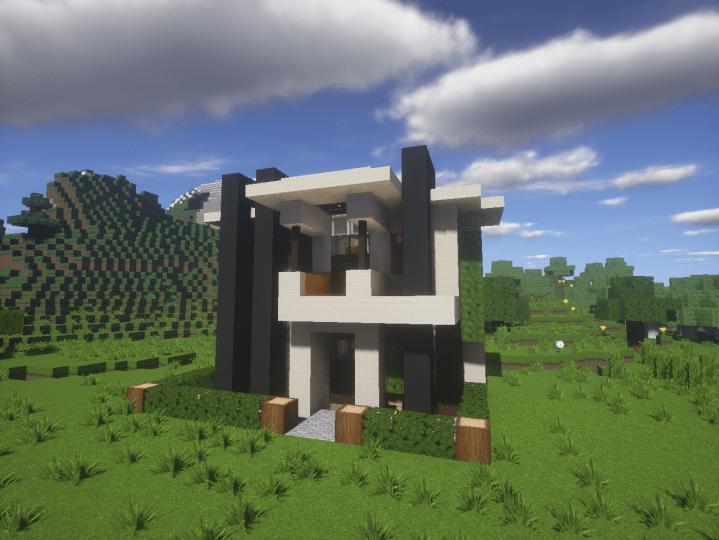 Modern House 15x15 Minecraft 1102 Minecraft Project