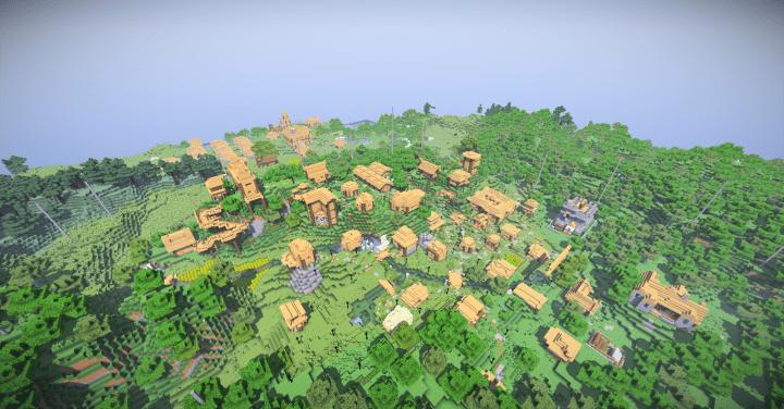 Village Building Minecraft Project