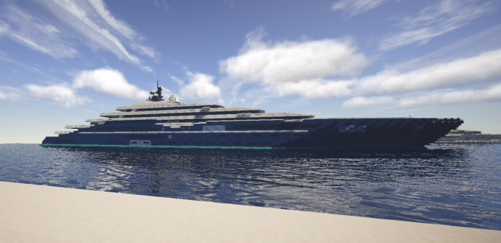 Double Century Yacht Minecraft Project