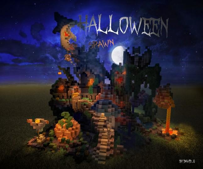 Halloween Spawn Minecraft Project