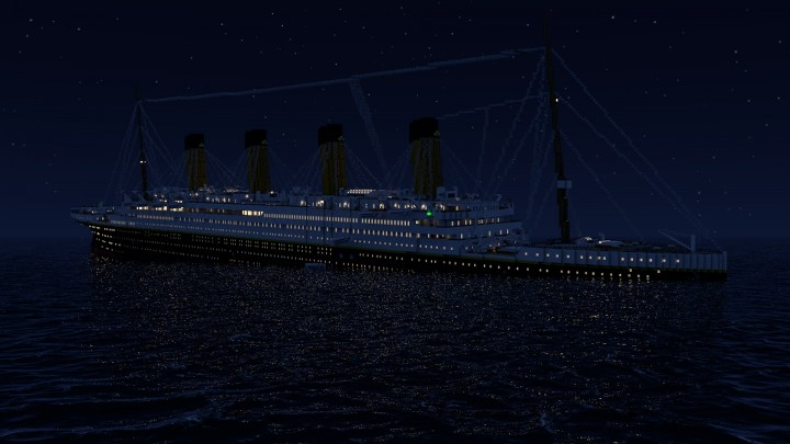 Titanic Sinking At 045 AM Minecraft Project