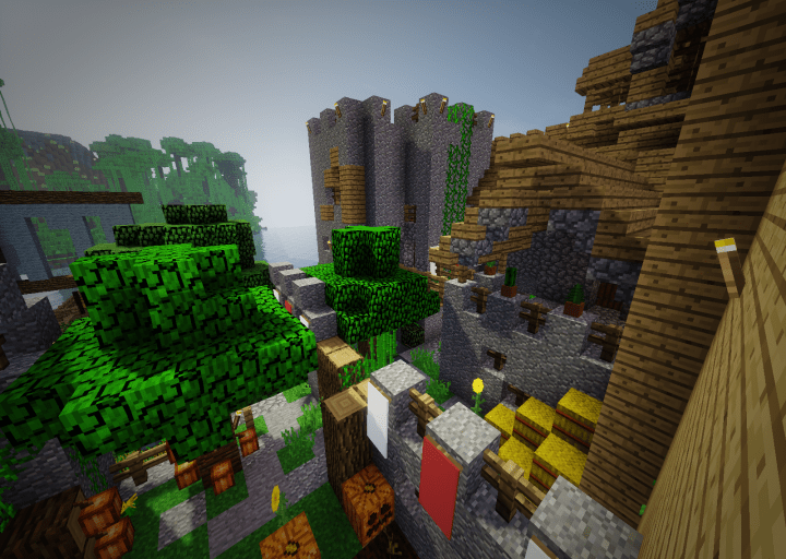 Medieval Jungle DOWNLOAD Minecraft Project