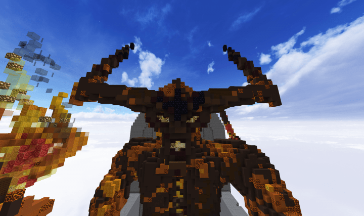 Surtur Lord Of MuspelheimThor Ragnarok Minecraft Project