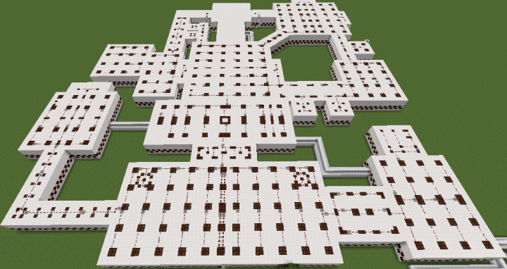 FNAF All Maps Custom Minecraft Project