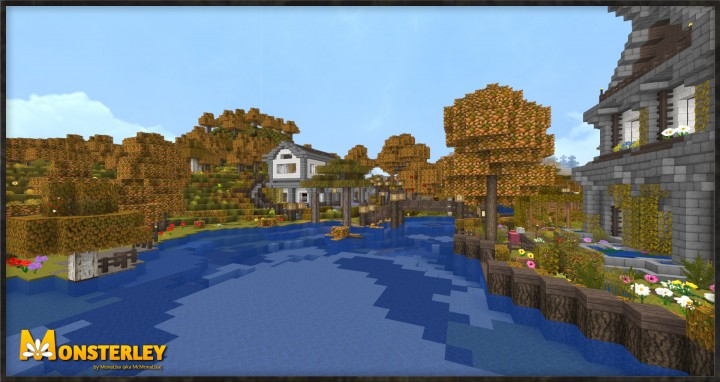 Monsterley 32px Add On Autumn Minecraft Texture Pack