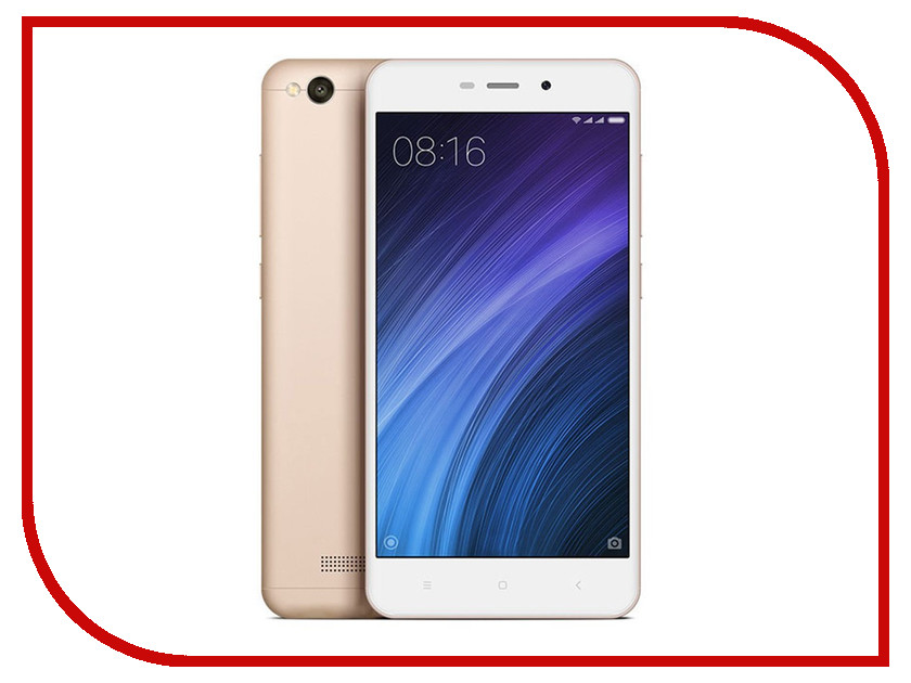 Сотовый телефон Xiaomi Redmi 4A 2Gb RAM 16Gb Gold