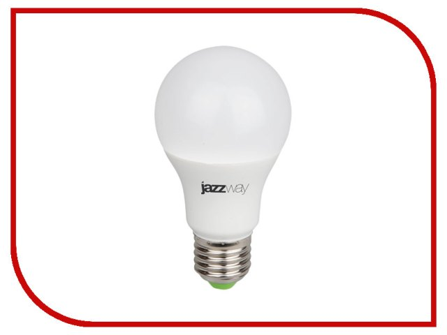 Светодиодная фитолампа Jazzway PPG A60 Agro 9W IP20 Image