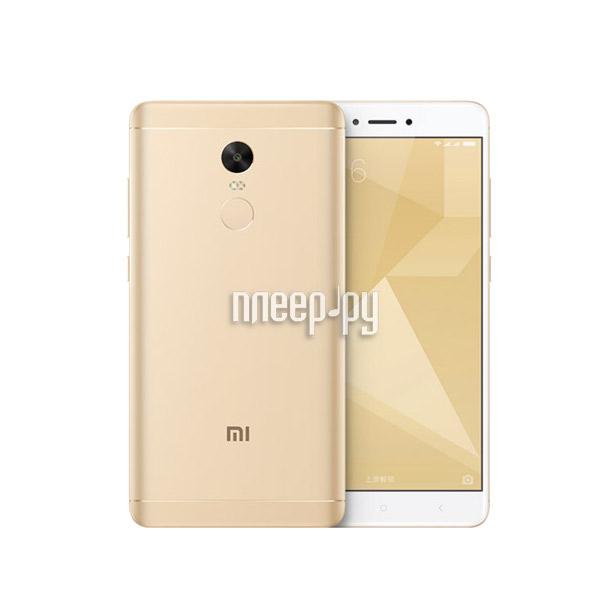 Сотовый телефон Xiaomi Redmi Note 4X 3Gb RAM 32Gb Gold