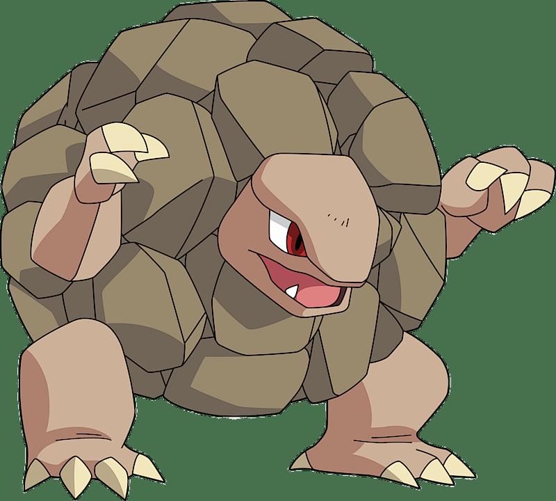 Pokemon 76 Golem Pokedex Evolution Moves Location Stats