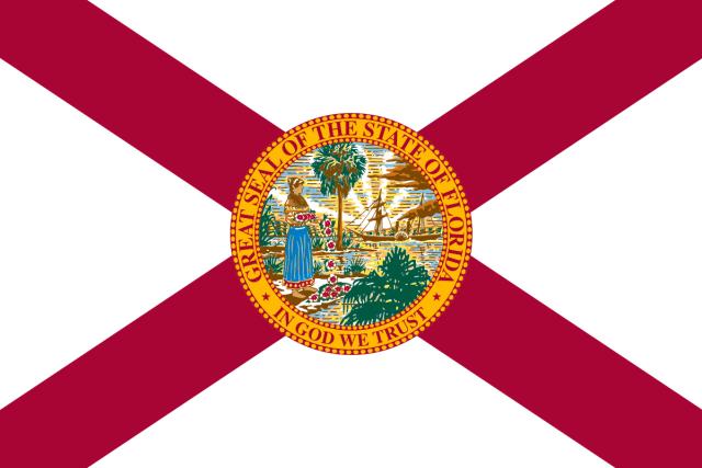 Floridas flagg.