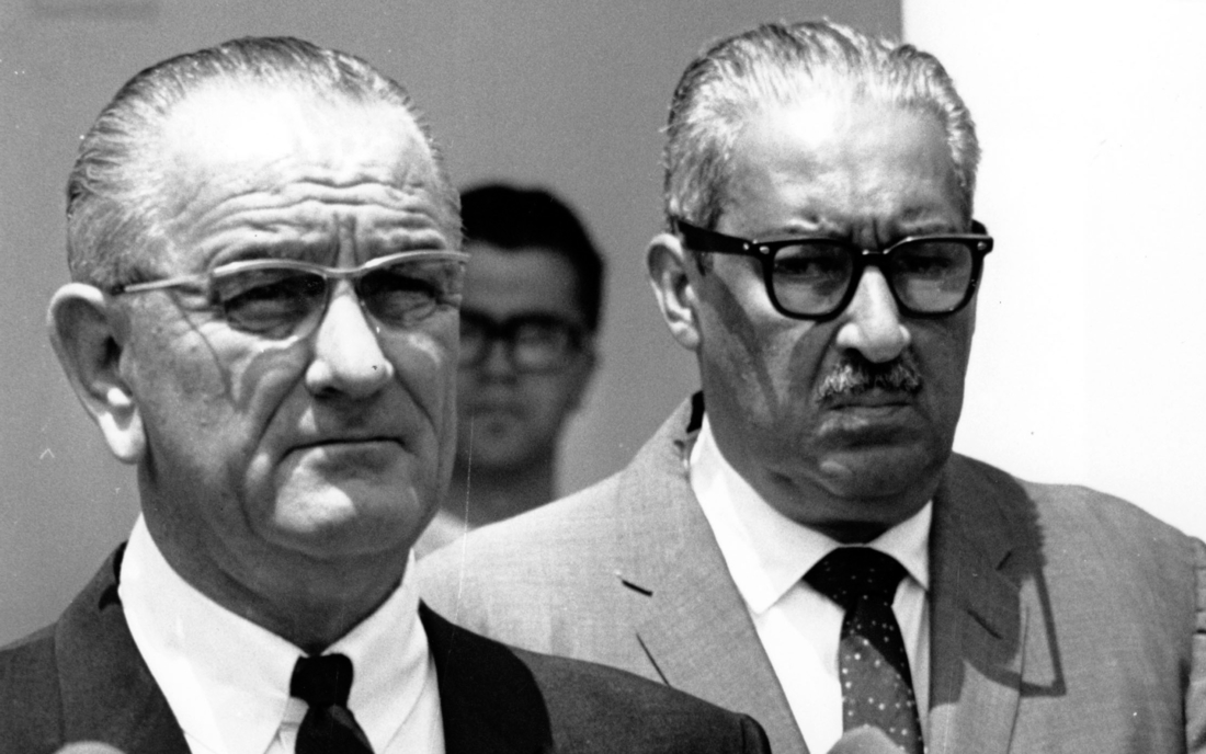 Lbj Nominates Thurgood Marshall To Supreme Court June 13