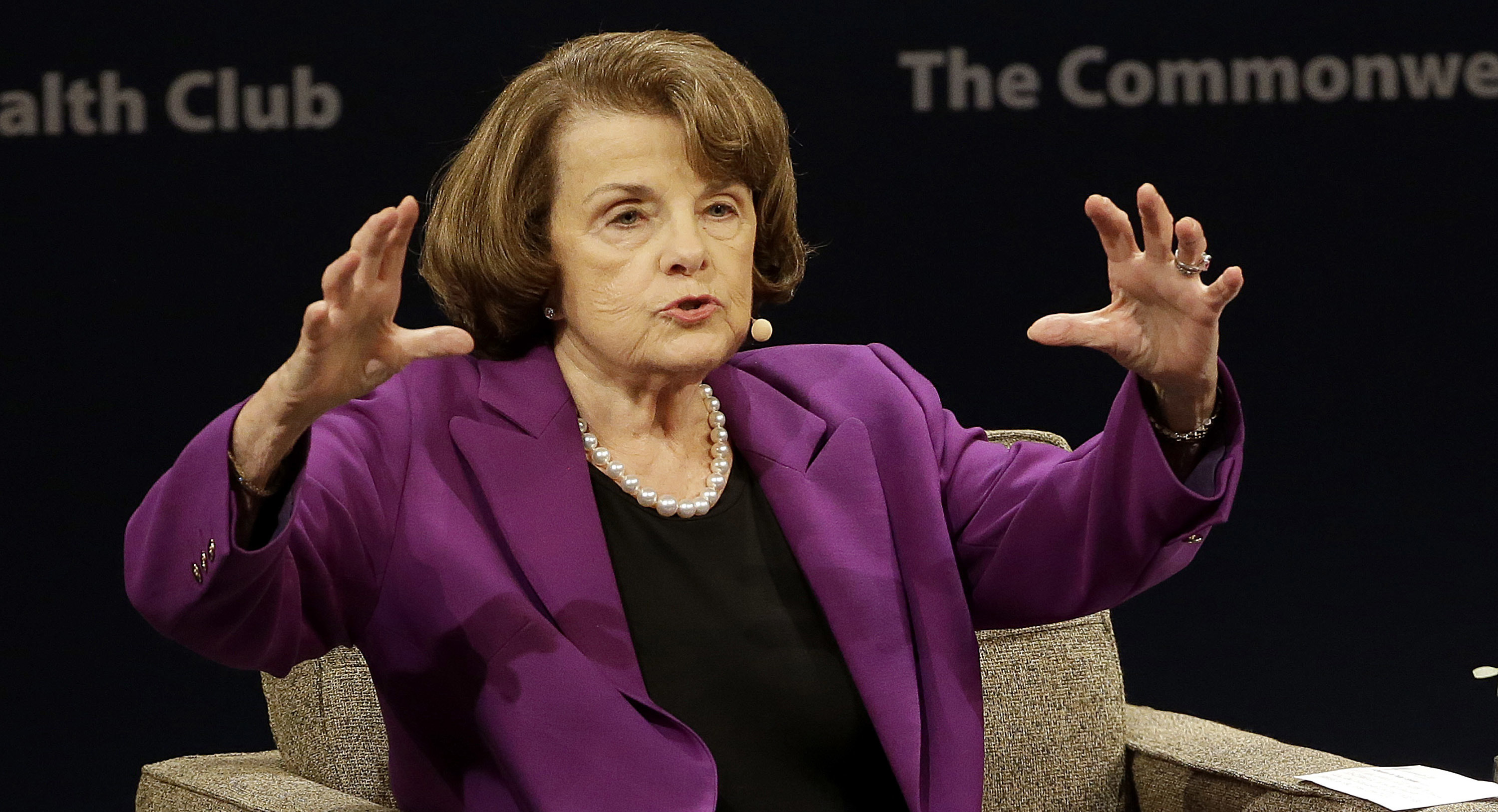 Feinstein Expresses Hope That Trump 'can Be A Good