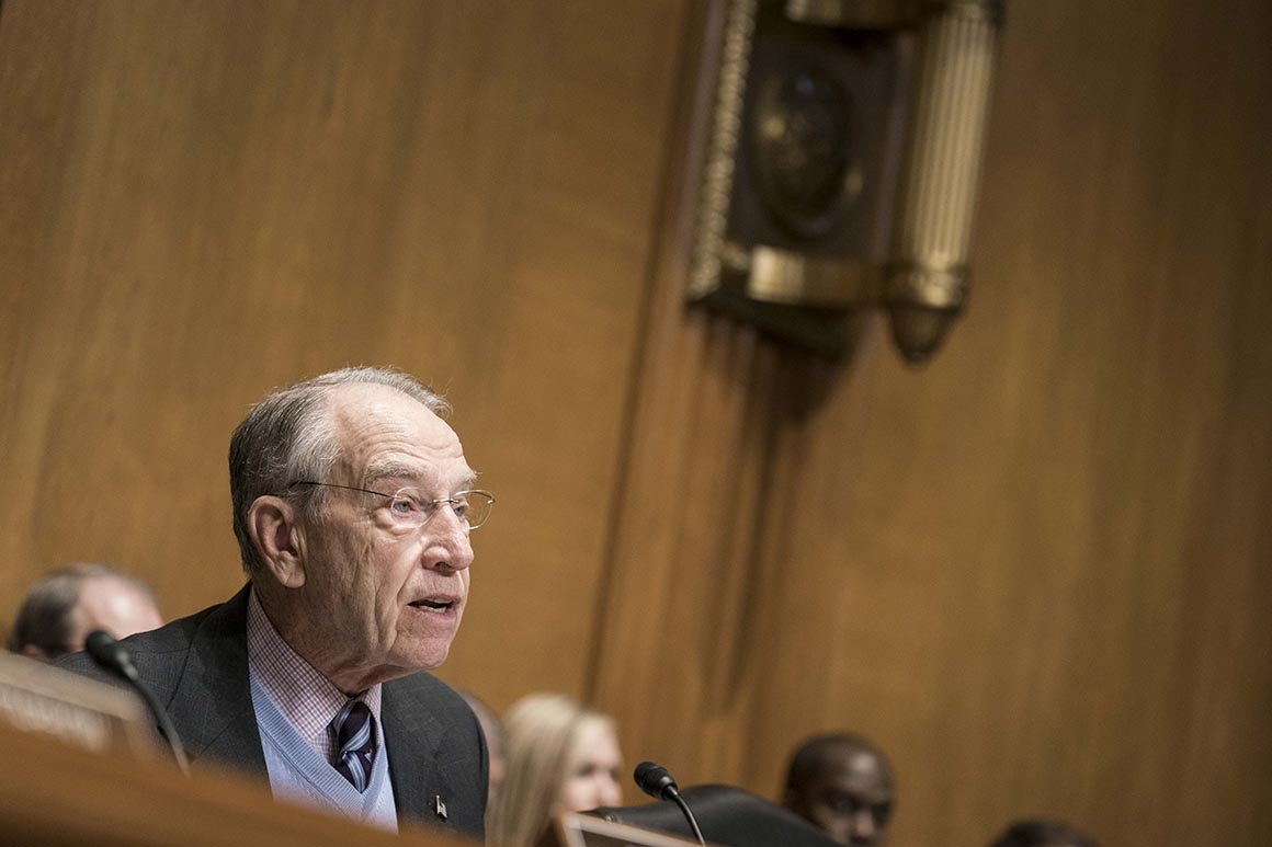 Grassley seeks explanation of Trump's firing of Atkinson