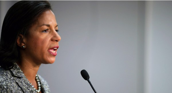 Susan Rice: Climate change 'an advancing menace' - POLITICO