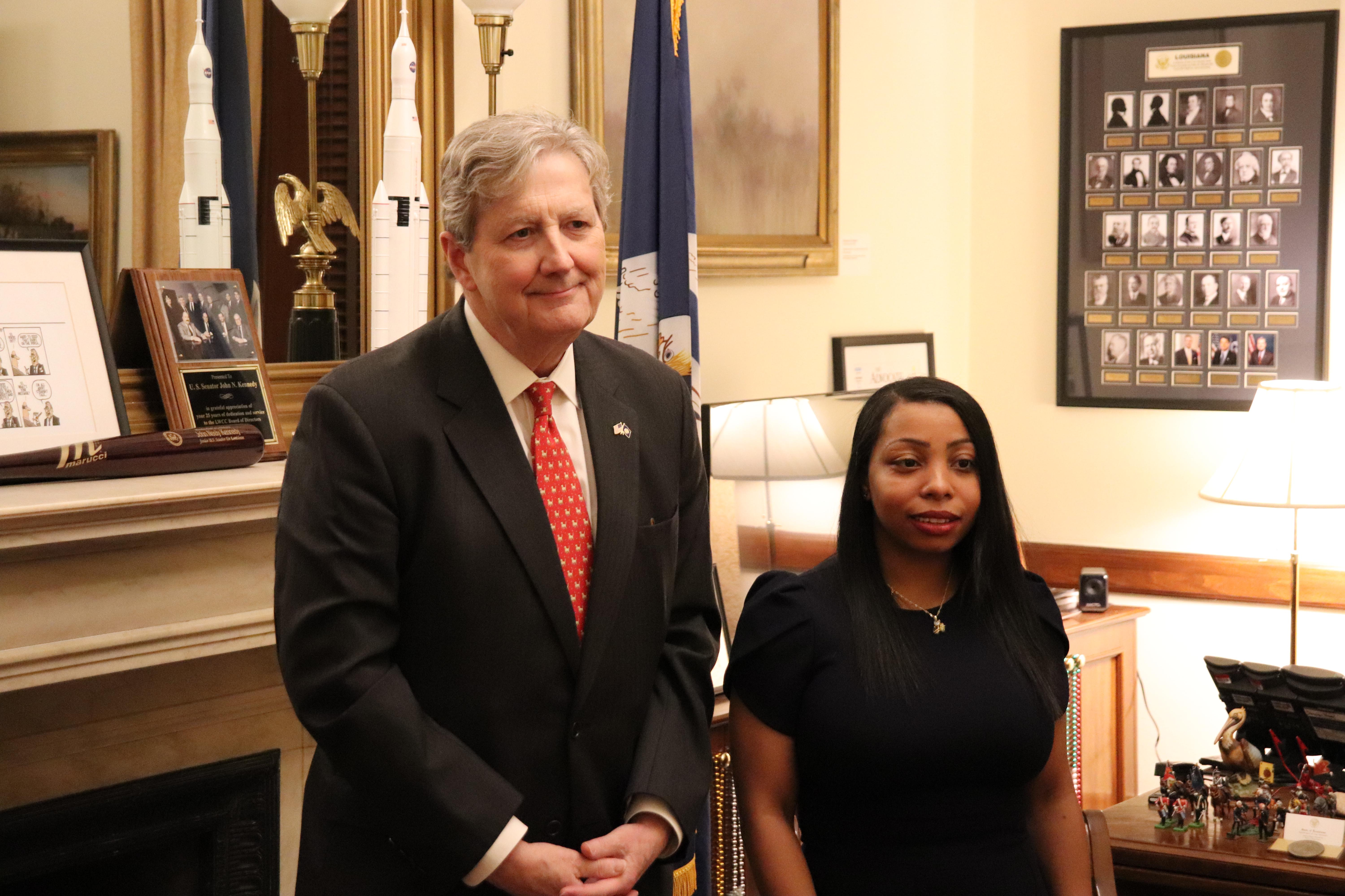 Sen. Kennedy again invites custodian to State of the Union