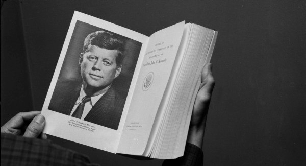 LBJ launches probe into JFK's assassination, Nov. 29, 1963 ...