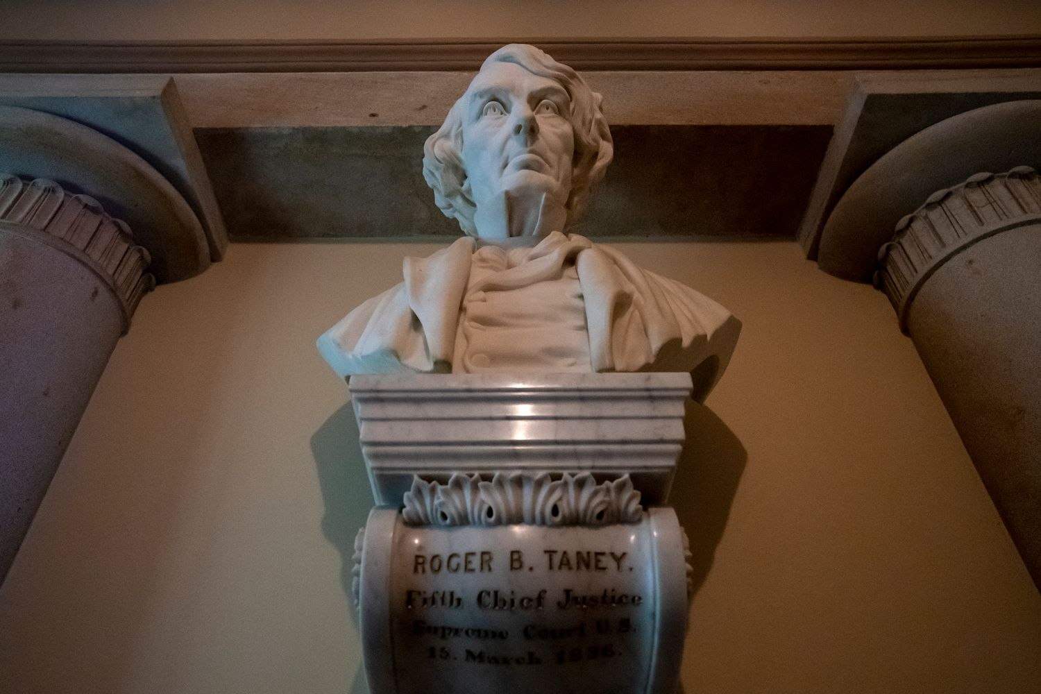 House to vote in July to remove bust of Roger Taney from Capitol