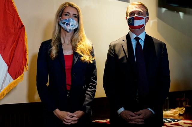 Sen. Kelly Loeffler and Sen. David Perdue