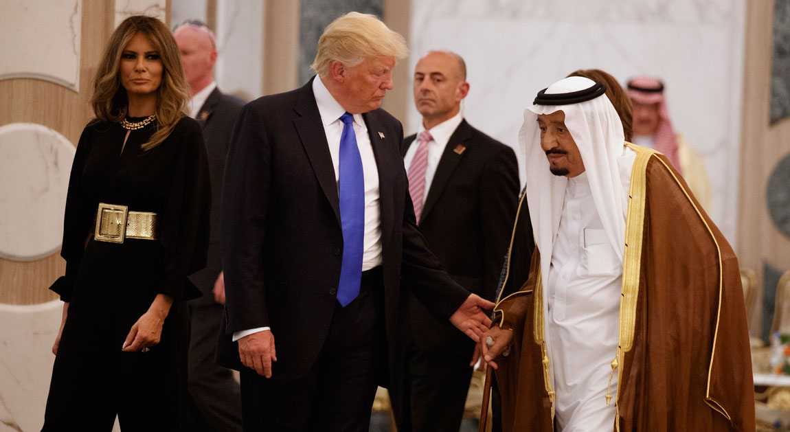 Image result for photos of trump in saudi arabia