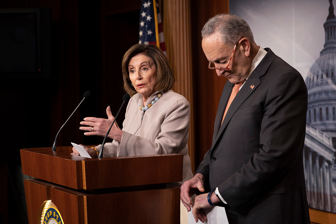 Democrats counter with demands for latest coronavirus package