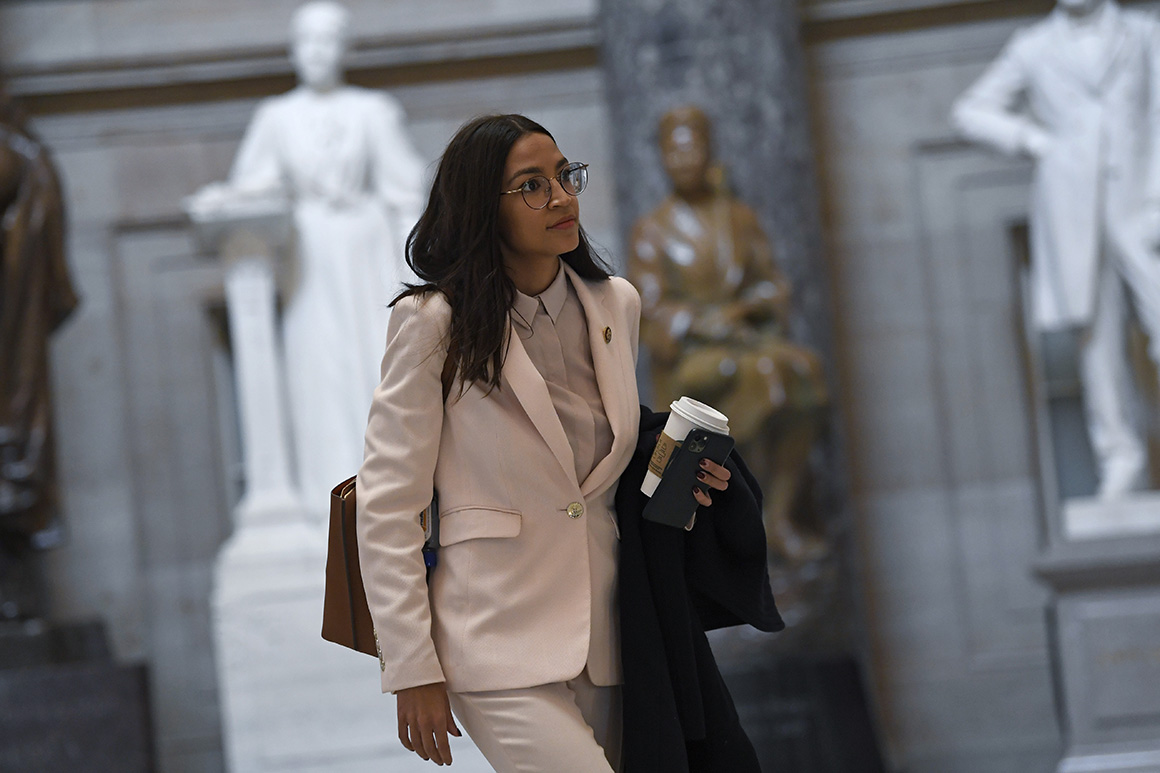 Ocasio-Cortez raises AIPAC ire over effort to tie Israel aid to annexation