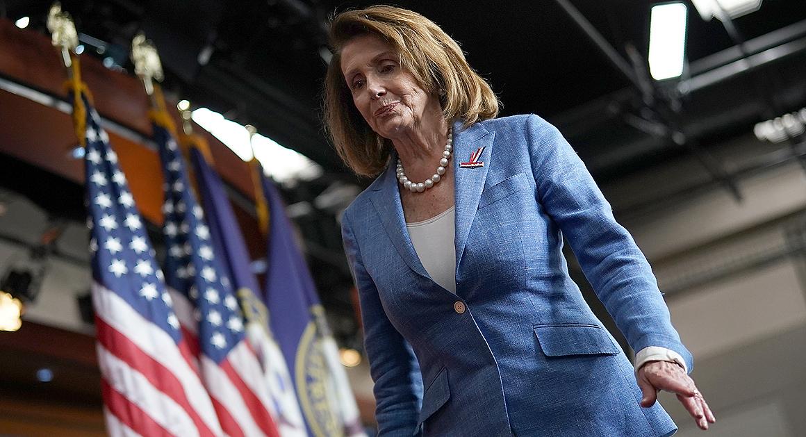 Pelosi Booker Push For Removal Of Capitols Confederate