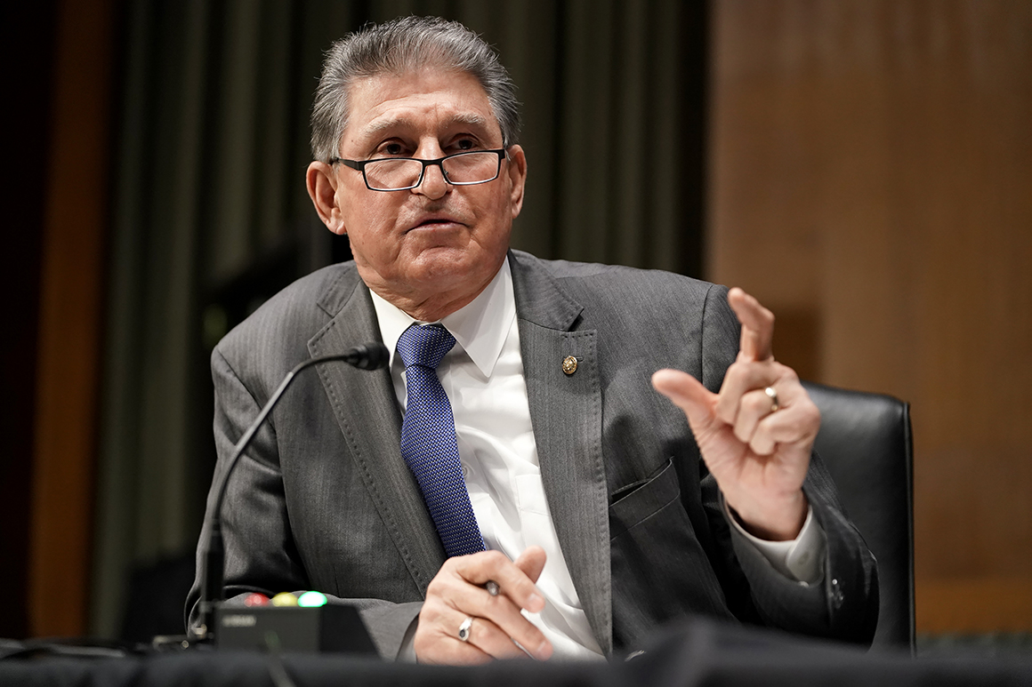 Sen. Joe Manchin questions President Joe Biden's nominee for Secretary of Defense.