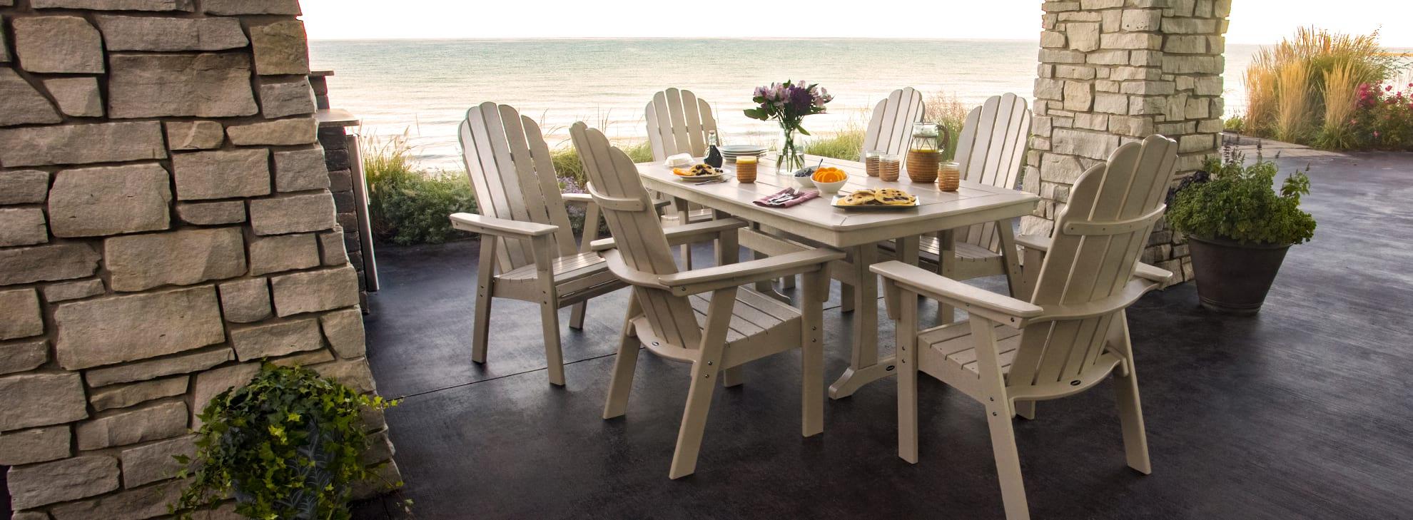 coastal beach style outdoor furniture
