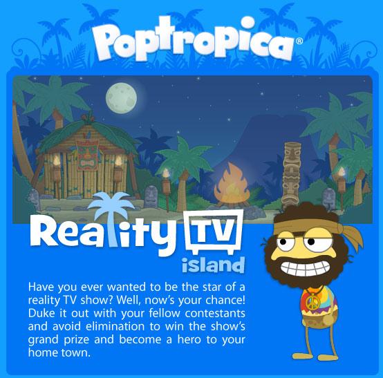 Reality TV Island Coming Soon!