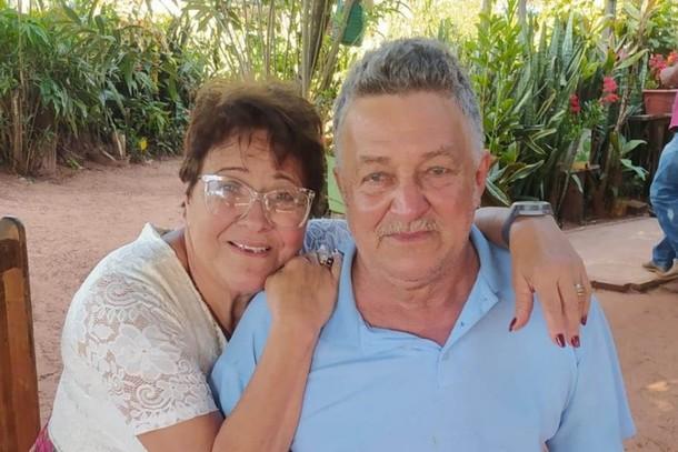 Tereza Soares da Costa, de 77 anos, e Crizantino Soares da Costa, de 69 anos