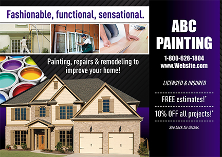 Painting Contractor Marketing Idea