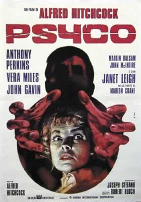 Risultati immagini per PSYCHO poster