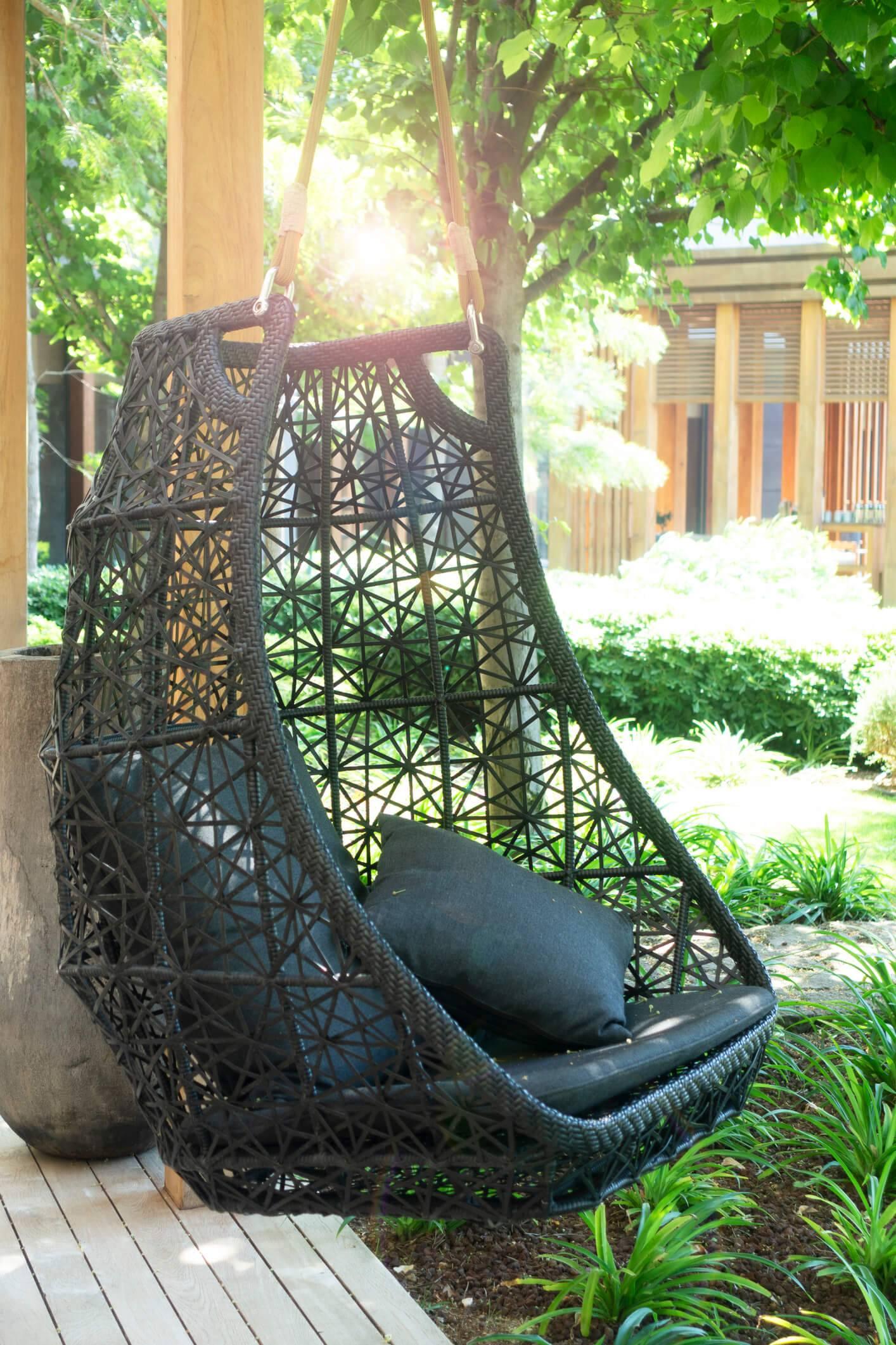 fauteuil suspendu un atout cocooning