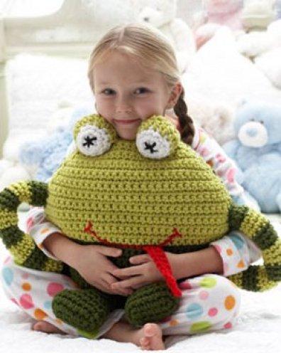 frog pillow