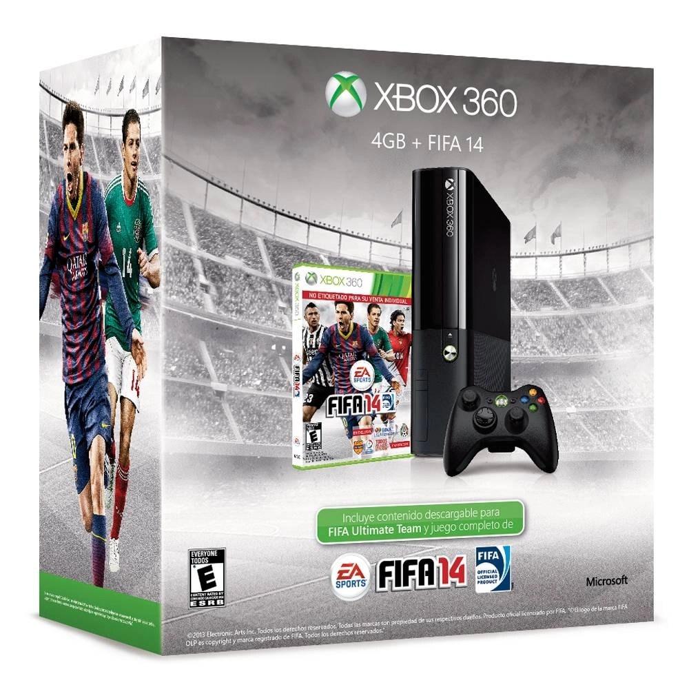 Walmart Xbox 360 4GB FIFA 14 2999