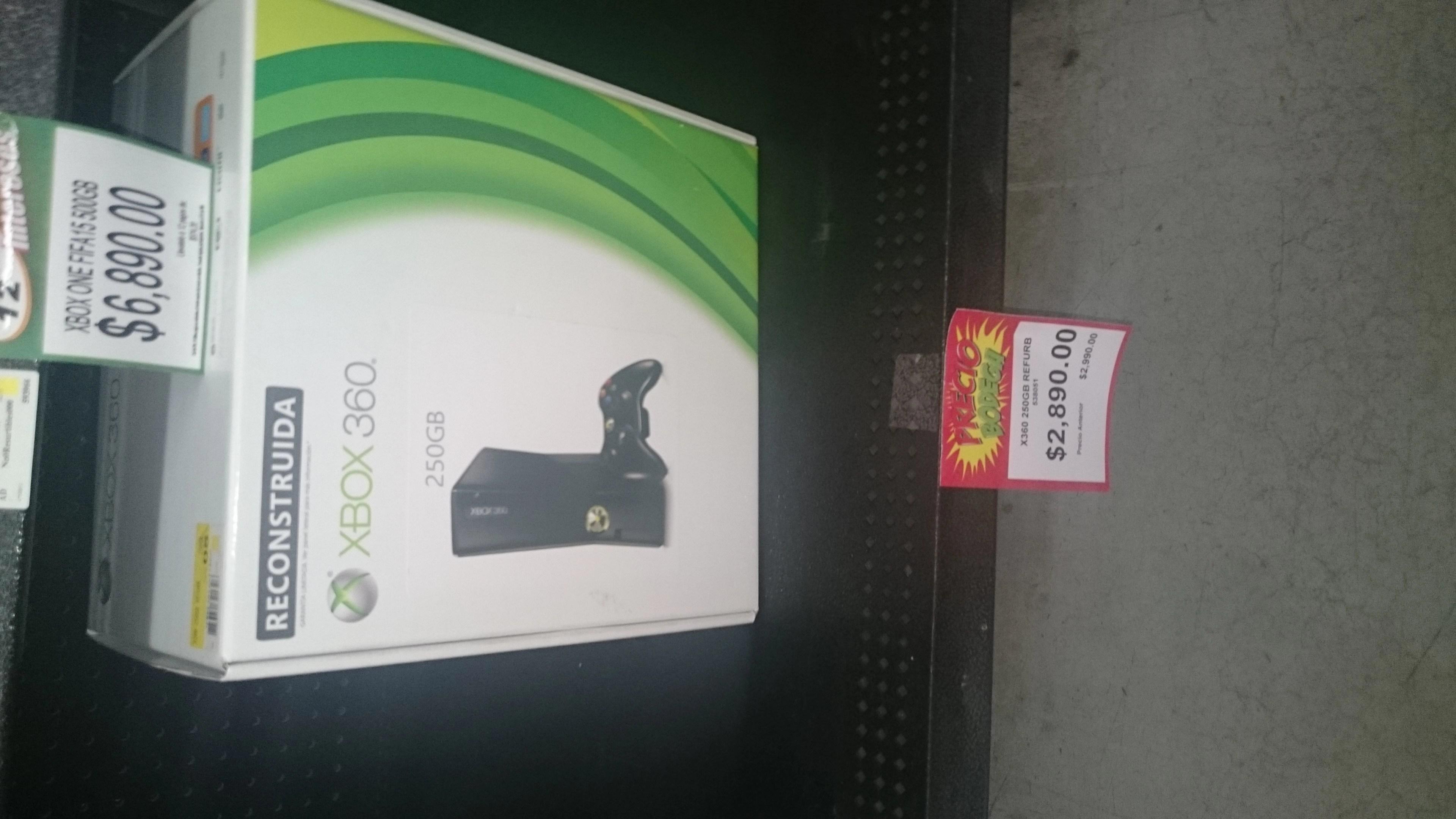 Bodega Aurrer Xbox 360 250 Gb Reacondicionada 2890