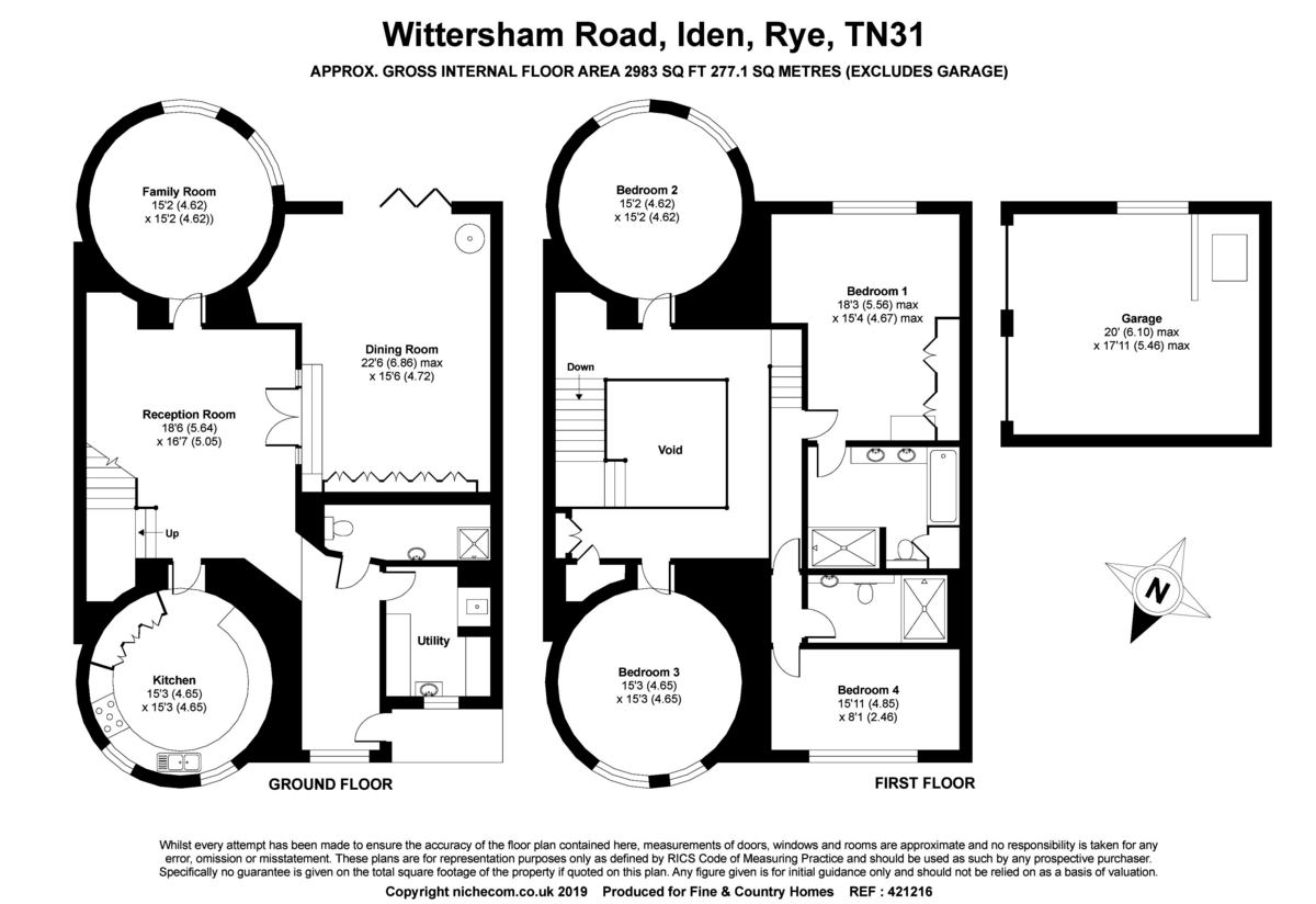 4 Bedroom Barn Conversion For Sale In Rye